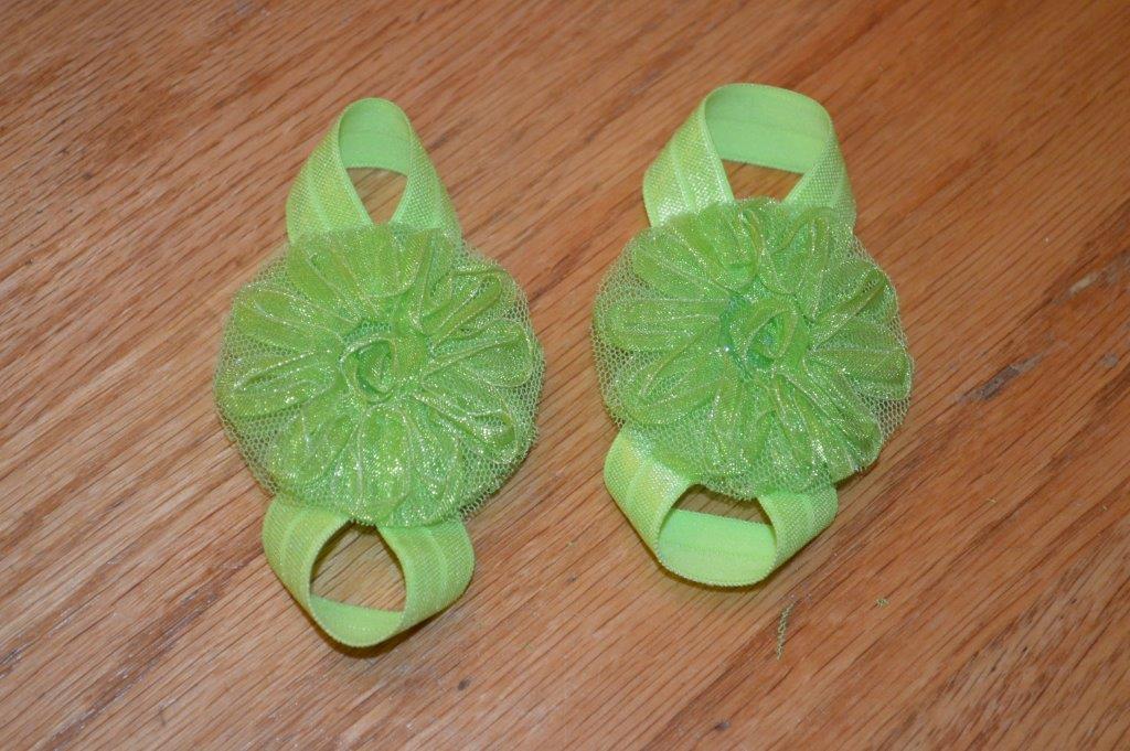 Embellishment or Ribbon Sandals 2