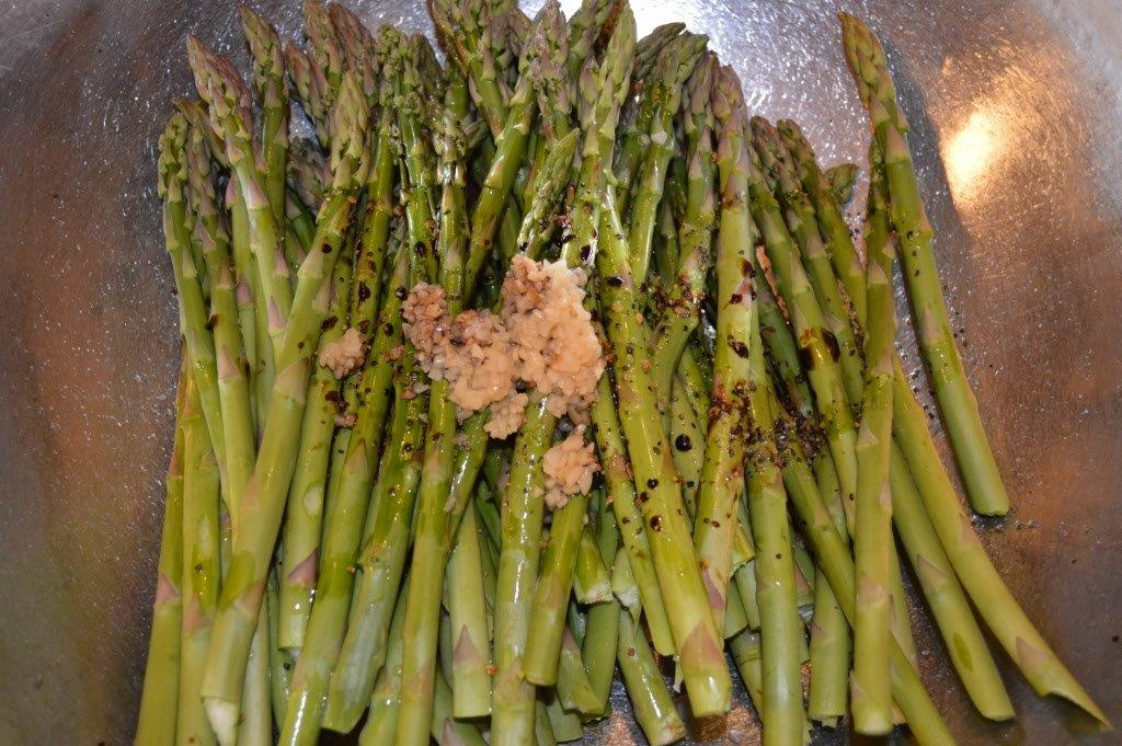 Oven Roasted Asparagus 1