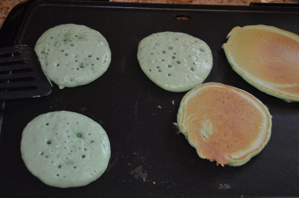 St Patrick's Pancakes 1