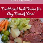 Easy Crock Pot Corned Beef & Vegetables