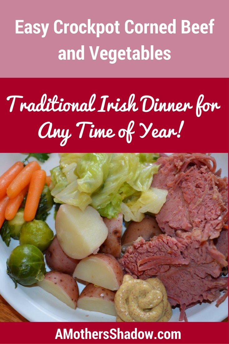 Easy Crock Pot Corned Beef