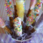 Easter Pretzel Rods