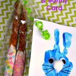 Bunny Card & Pretzel Candy