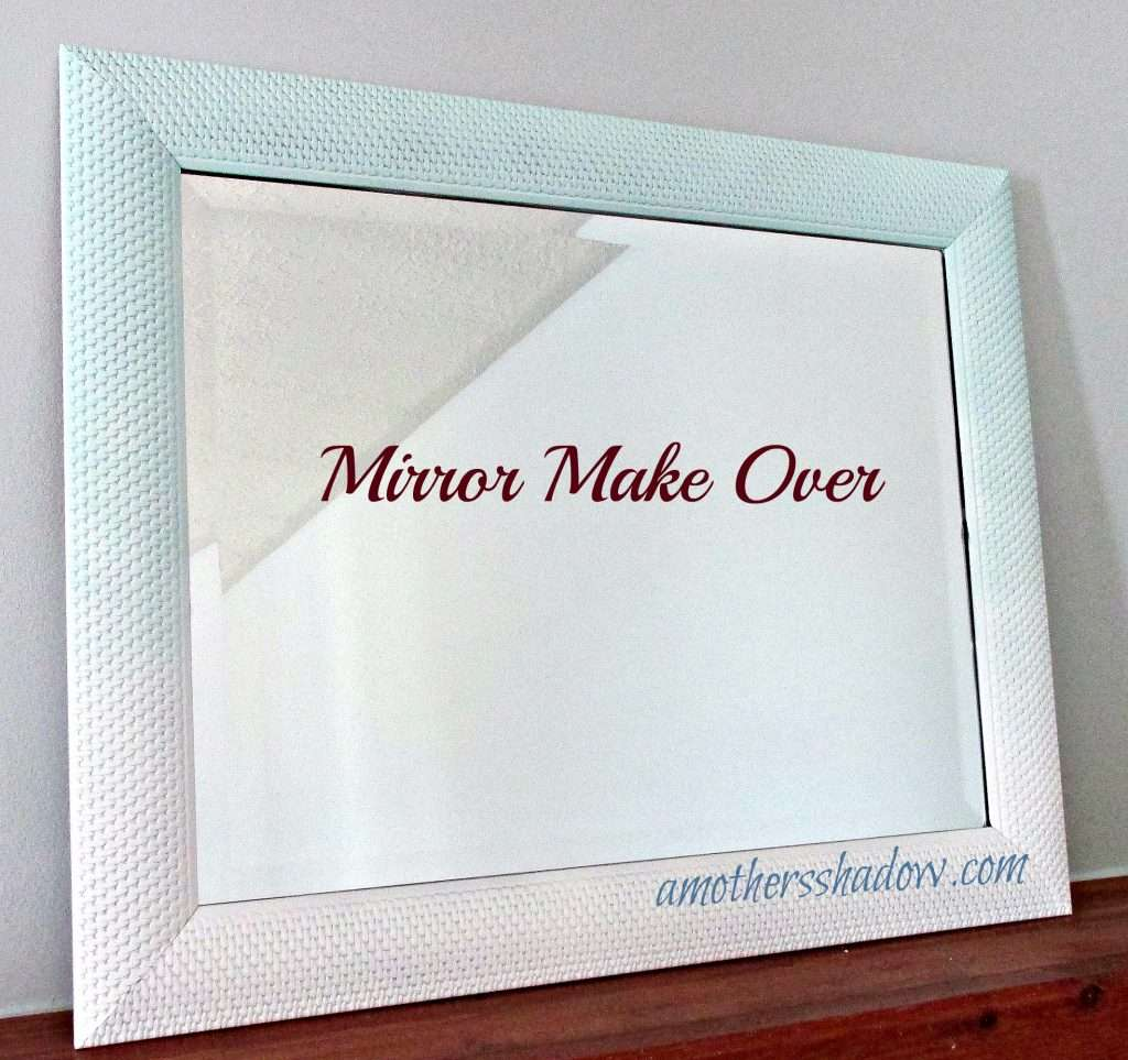 To show the mirror makeover