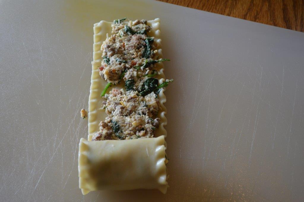 Lasagna Roll Up 10