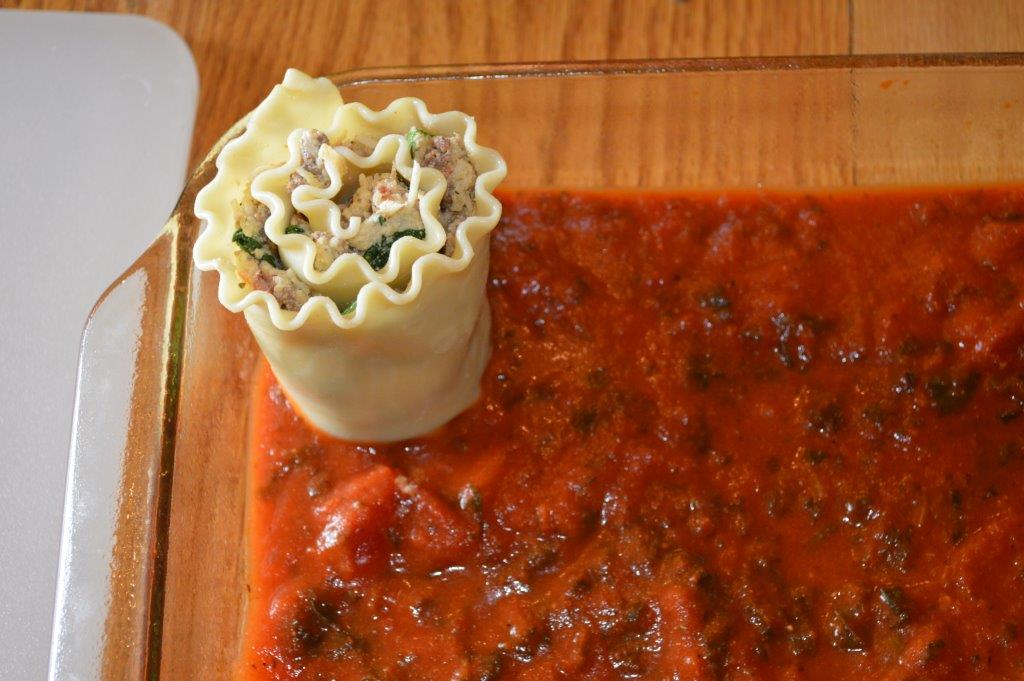 Lasagna Roll Up 10