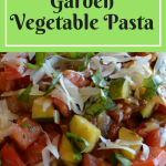 Healthy Garden Vegetable Pasta