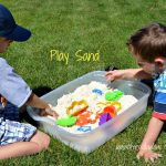 DIY Kids Play Sand
