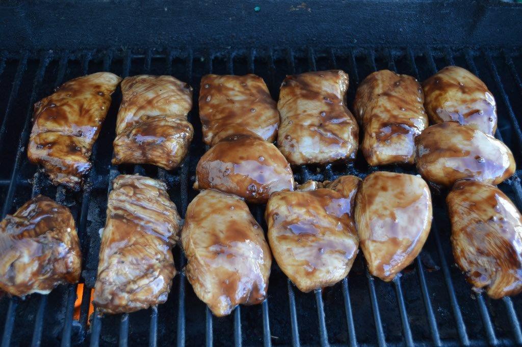 Balsamic Chicken in Strawberry Salsa 10