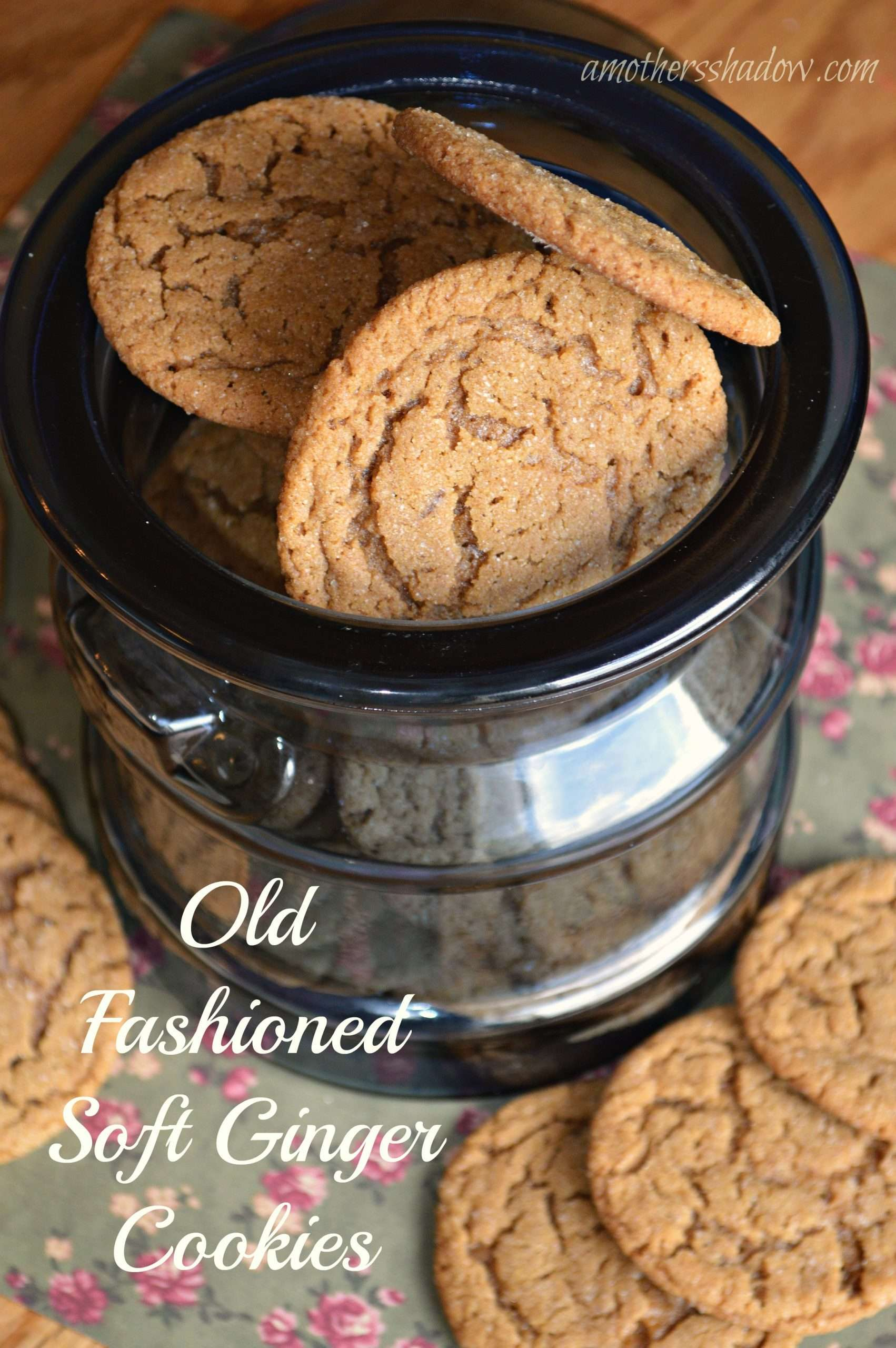 Old Fashioned Soft Ginger Snap Cookies