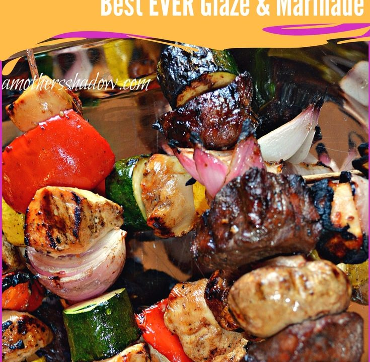 Balsamic Glazed Marinated Kabobs