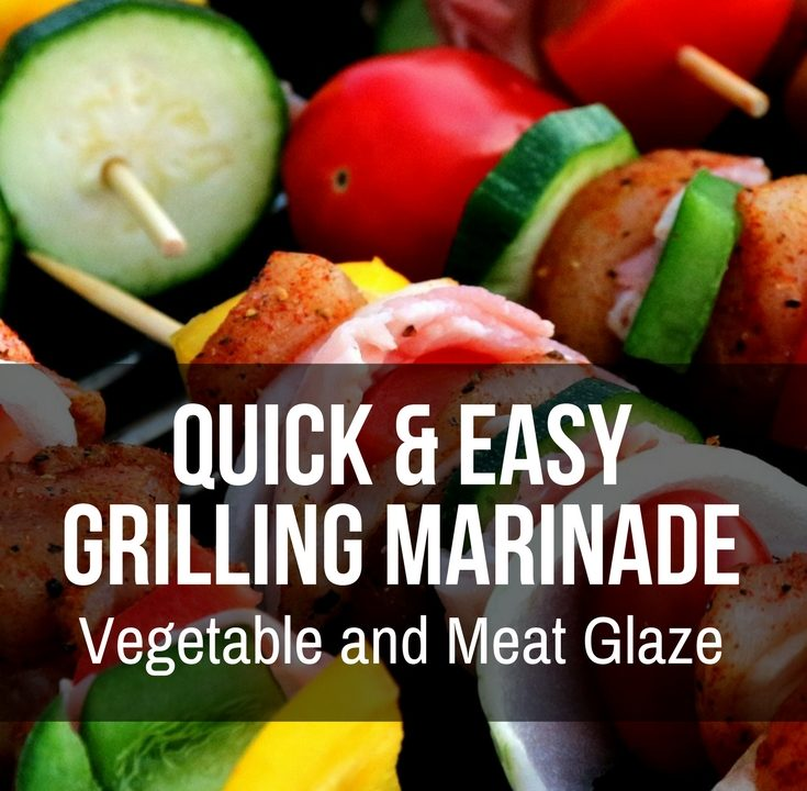 Vegetable and Meat Glaze for the Grill