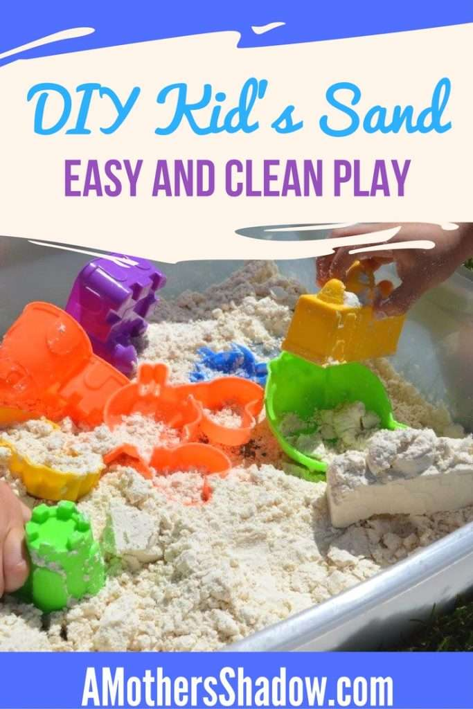 Easy and Clean Kids Play Sand