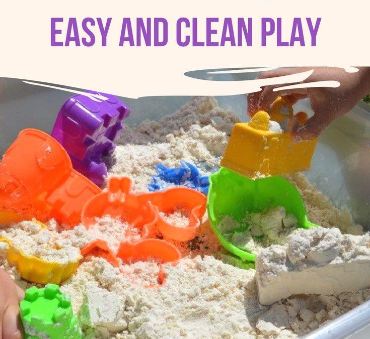 Homemade Kids Play Sand