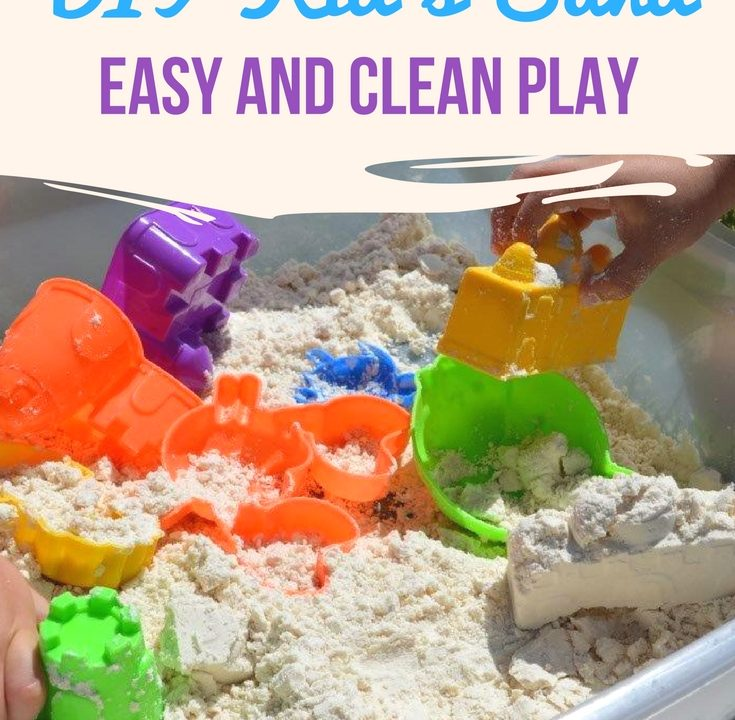 Homemade Kids Play Sand