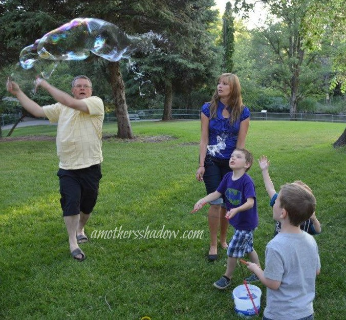 Home Made BIG Bubbles