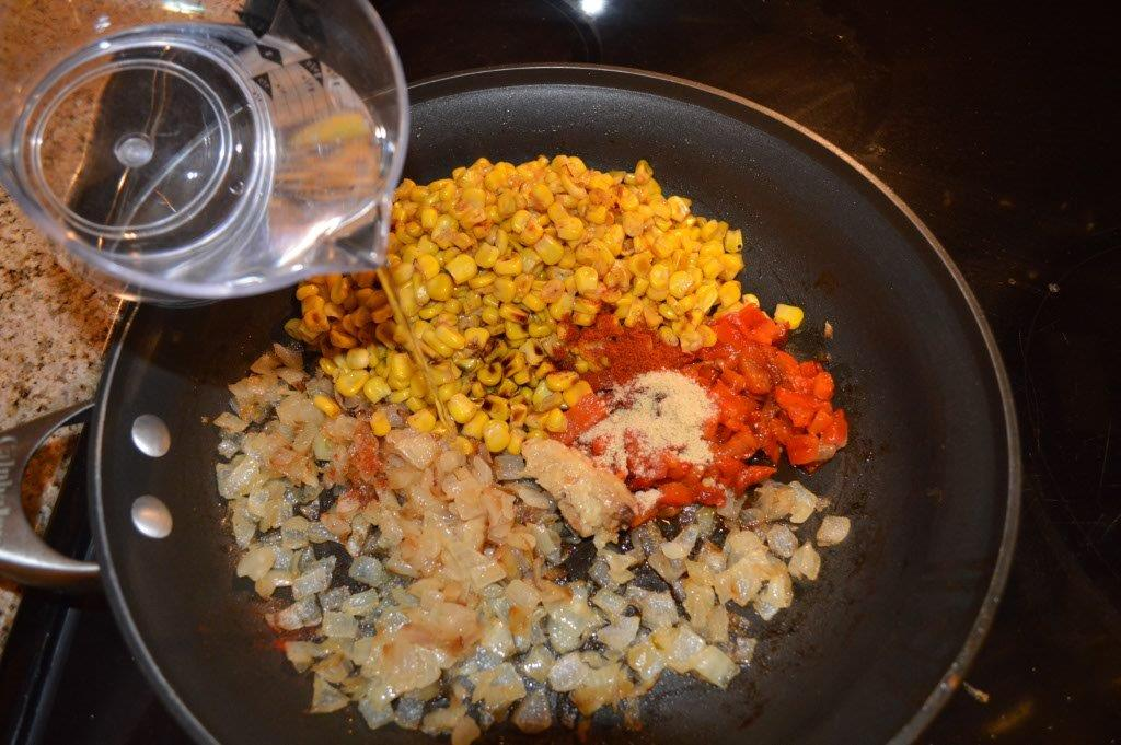 Cous Cous and roasted vegetables