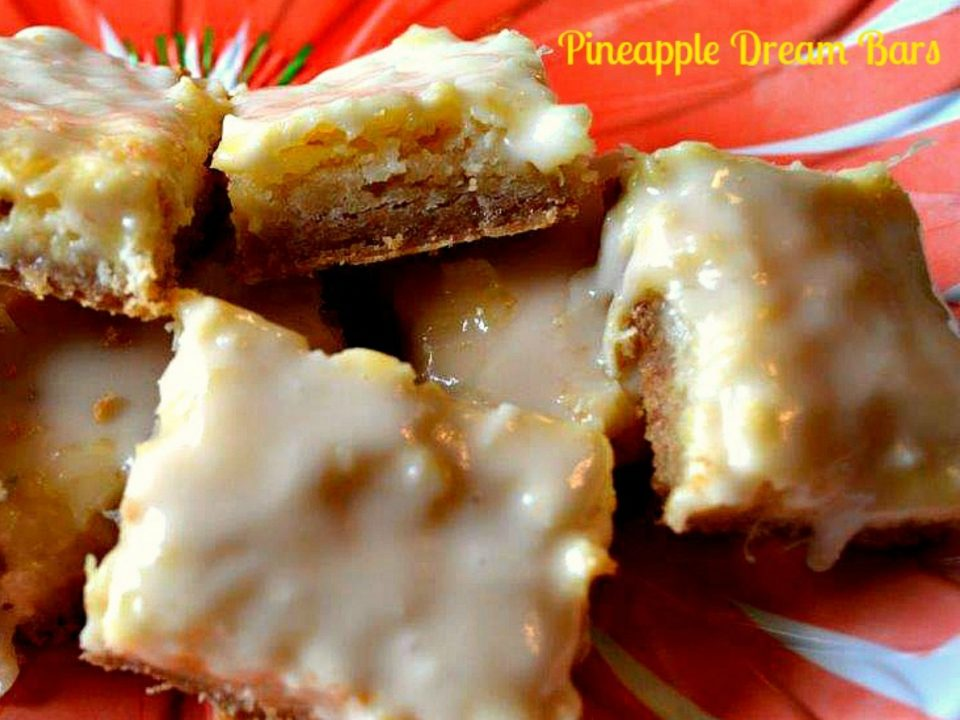 Pineapple Dream Bars