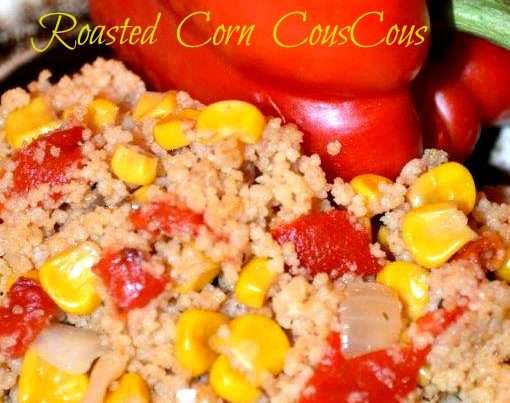 Roasted Corn Couscous