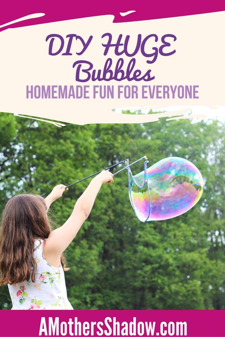 The BEST DIY Homemade Bubbles