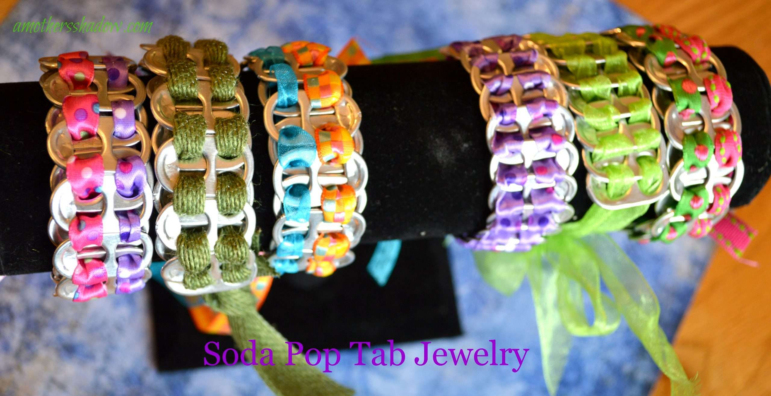 Soda Pop Tab Jewelry and Crafts