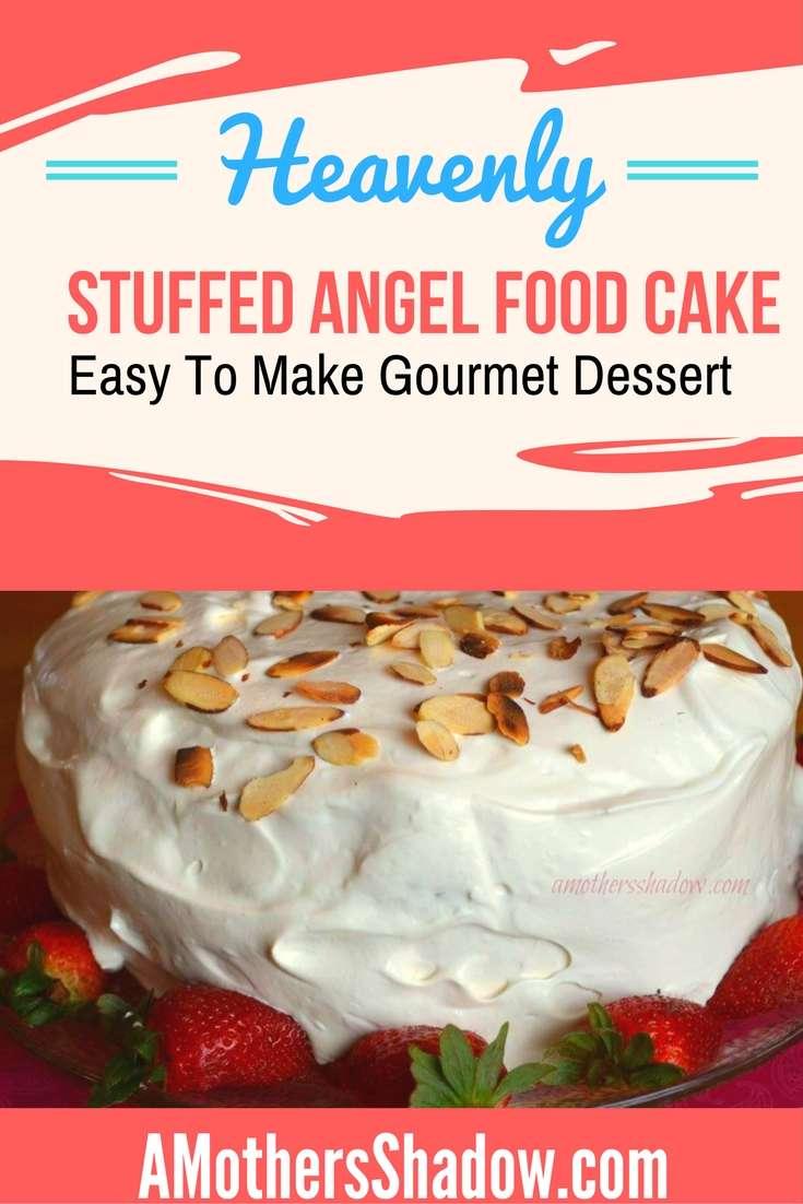 Fresh Strawberry Angel Food Cake