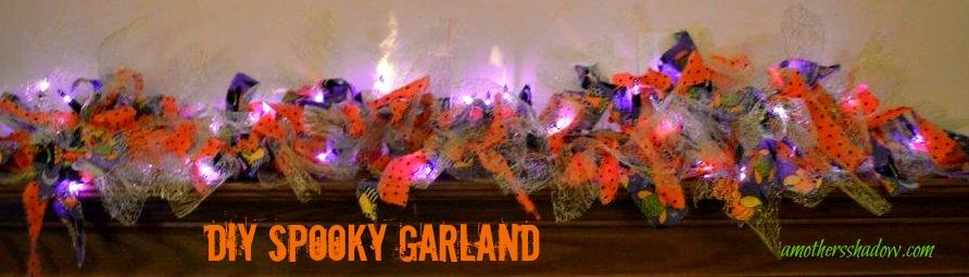 DIY Spooky Garland