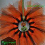 Outdoor or Indoor Halloween Wreath or Grave Ornament