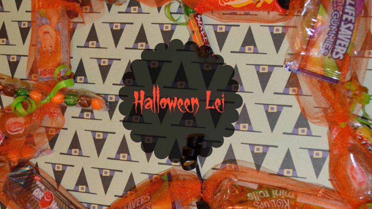 Halloween Candy Lei