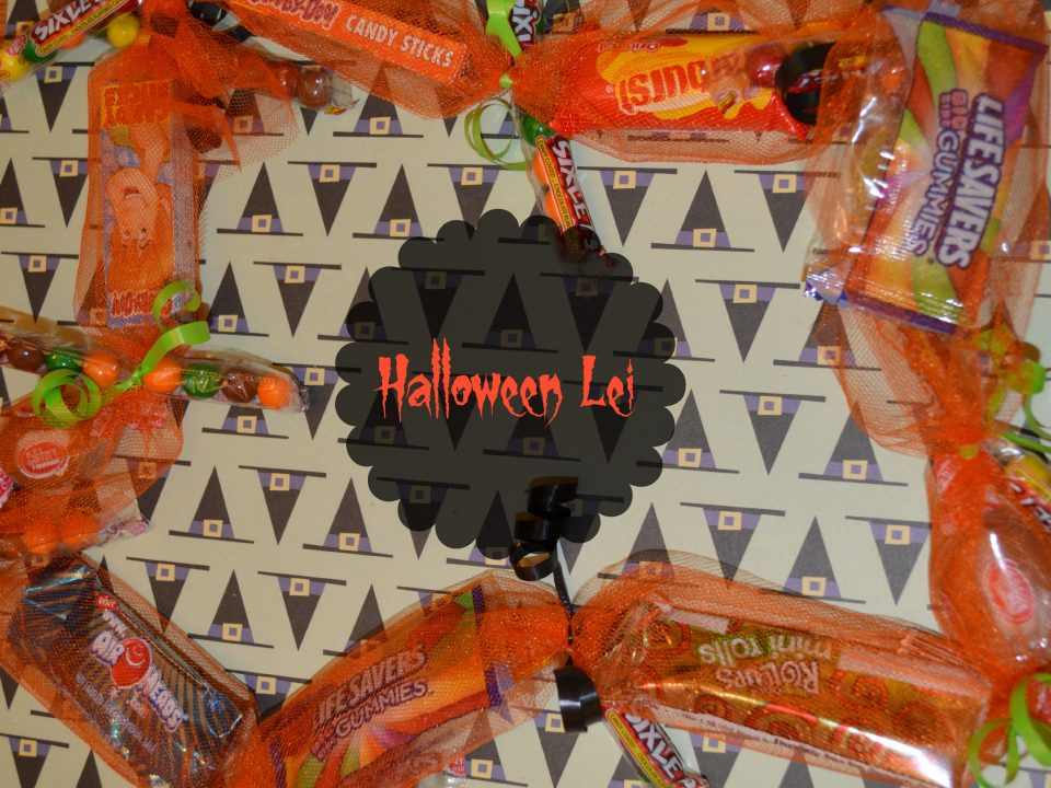 Halloween Candy Lei