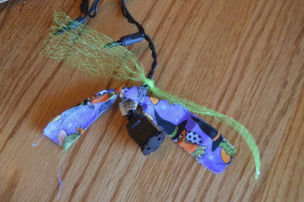 DIY Spooky Garland 10