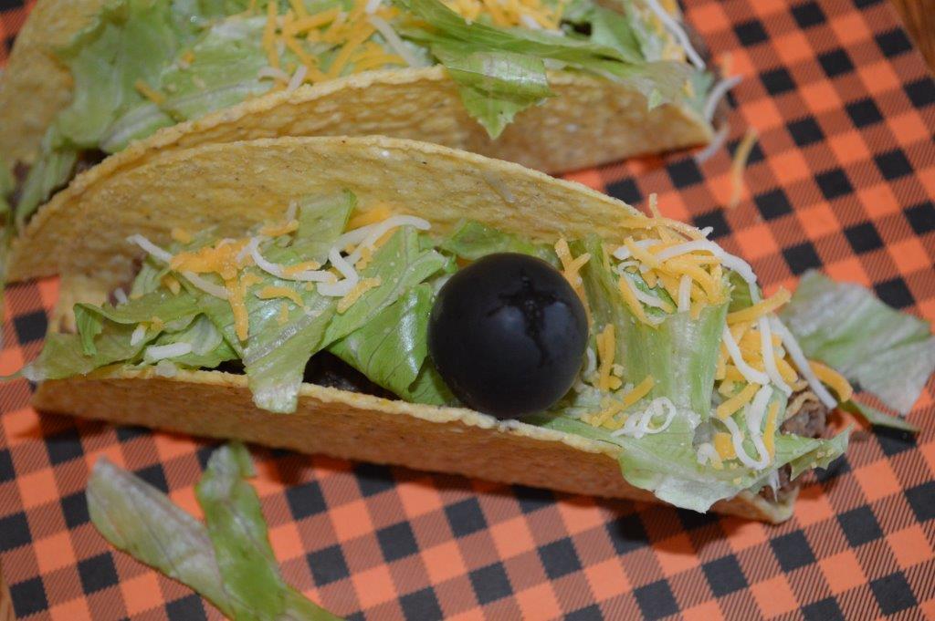 Halloween Spidey Tacos
