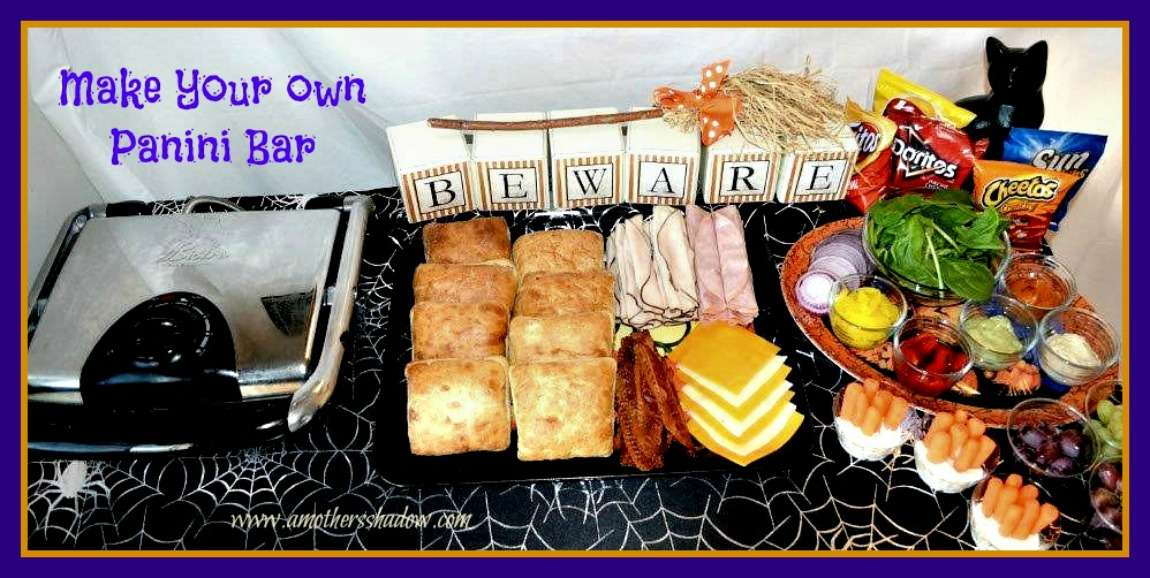 Halloween Make Your Own Panini Bar