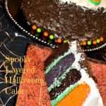 Spooky Layered Cake