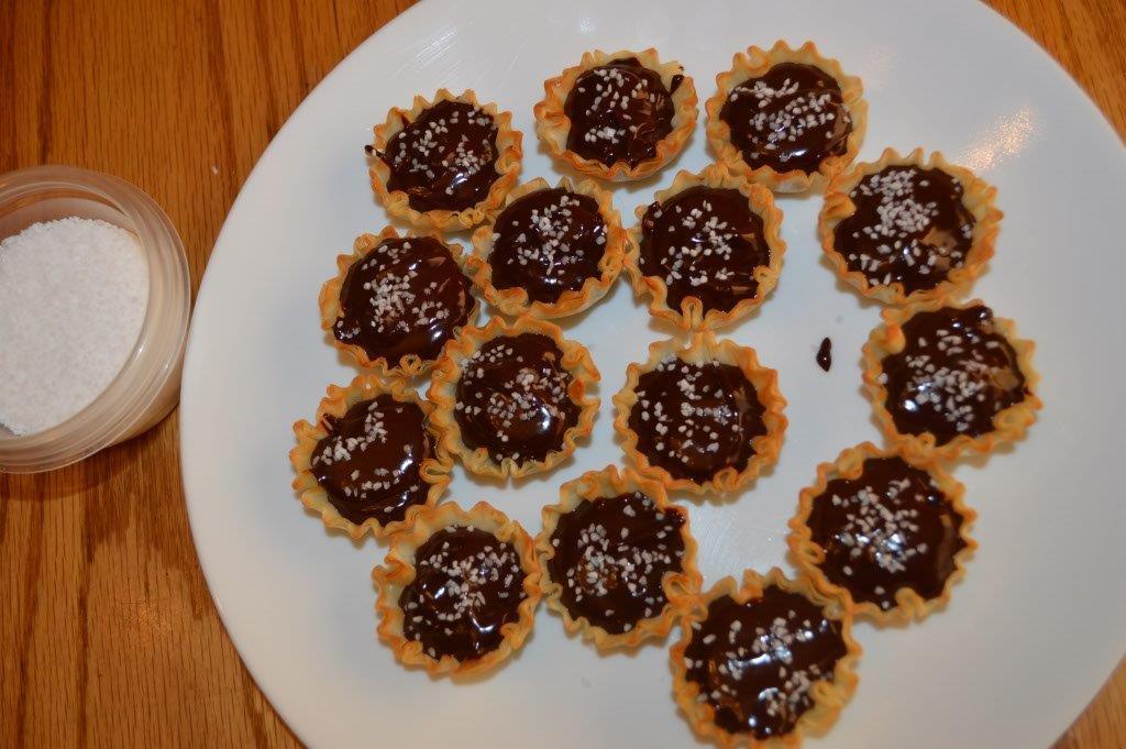 Guilt Free Intense Chocolate Tartlets 5