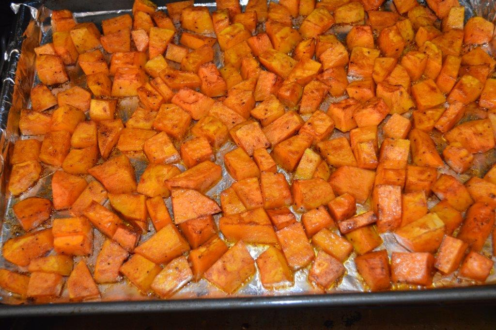Roasted Butter Nut Squash 8