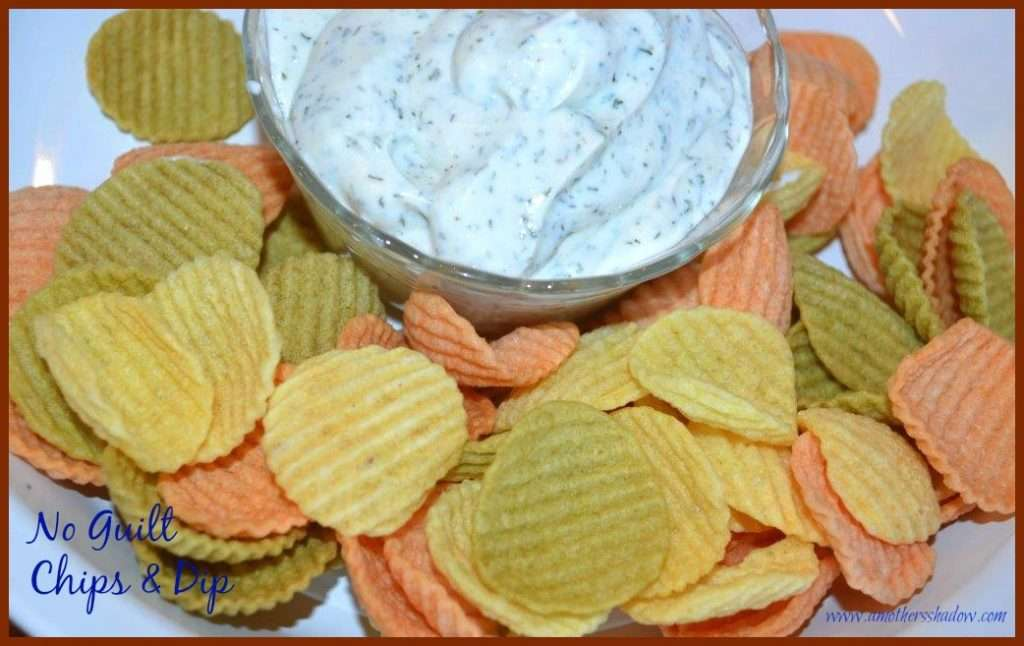 No guilt chips & dip