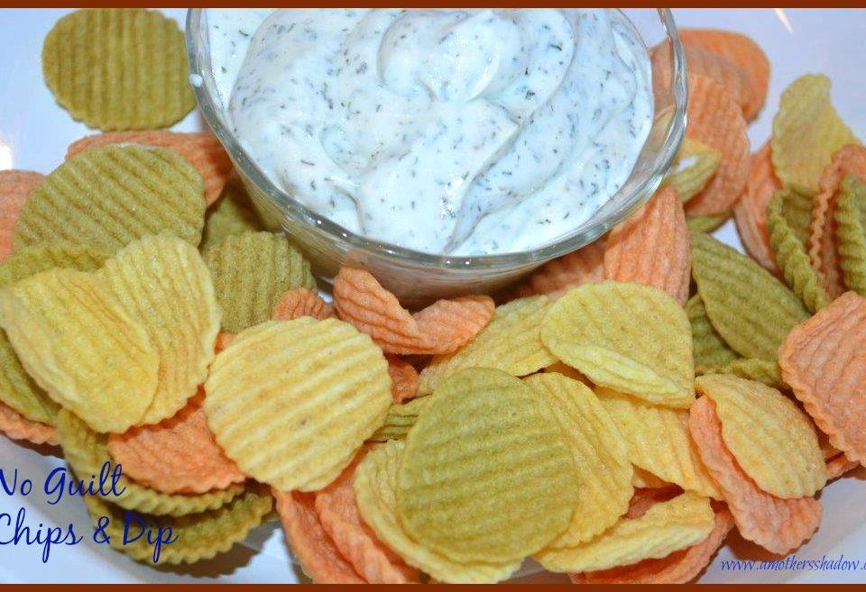 No guilt chips & dip