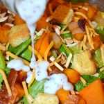 Roasted Squash & Green Salad