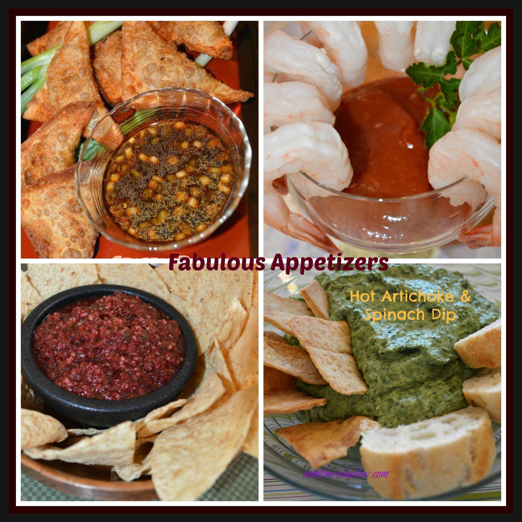Festive Appetizer RoundUp