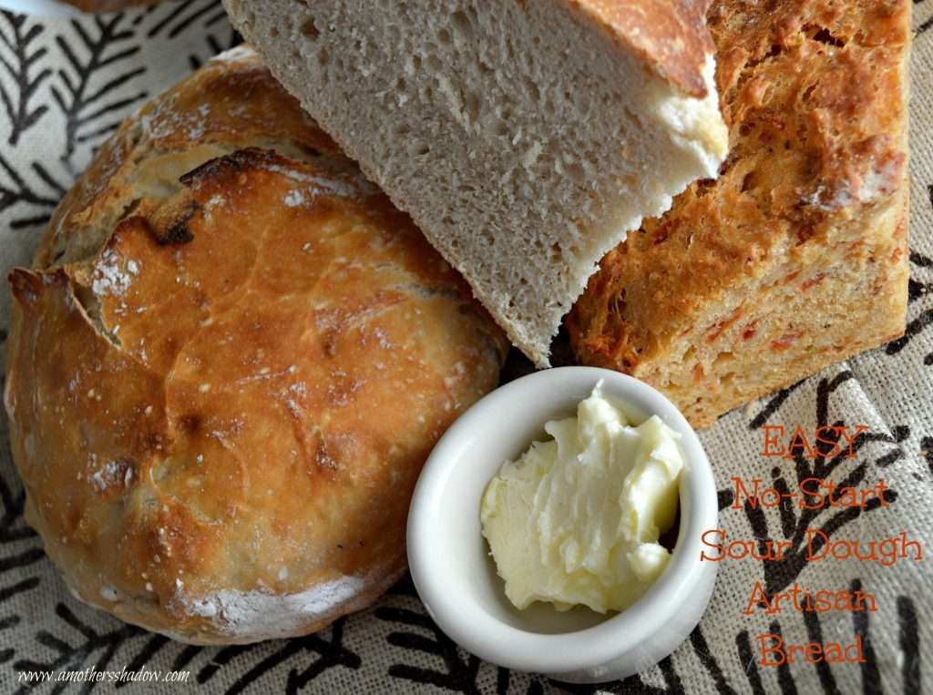 Yeast free sour dough bread