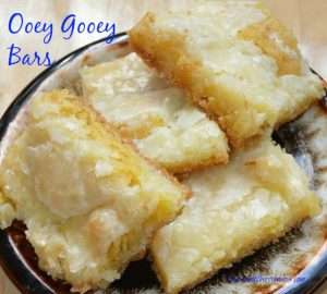 Ooey Gooey Bars