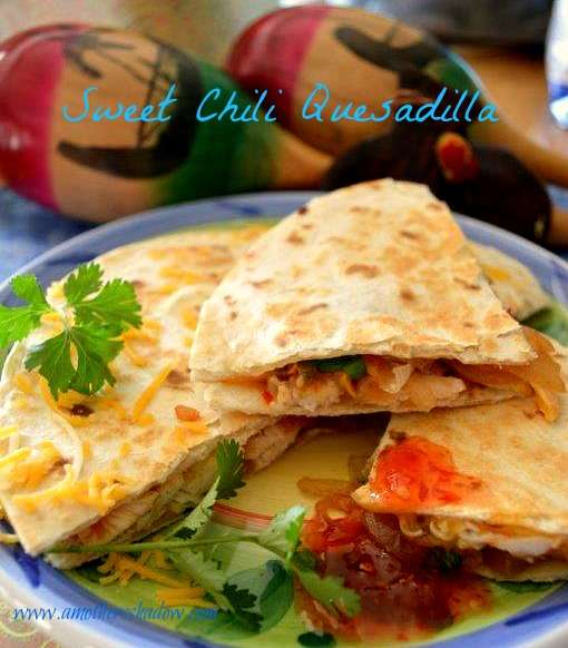 Sweet Chili Quesadilla 1