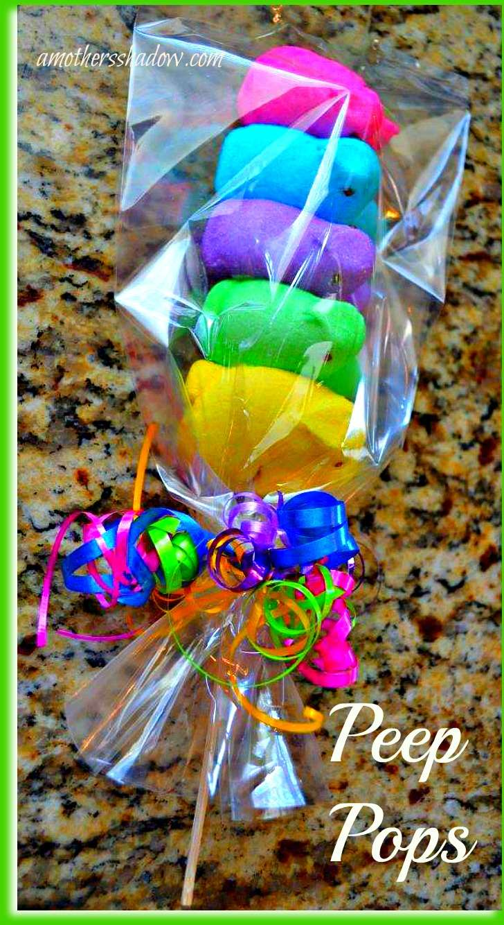 Easy Yummy Easter Peep Pops