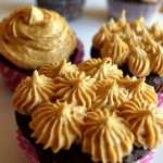 Biscoff Buttercream Iced Chocolate Cupcakes