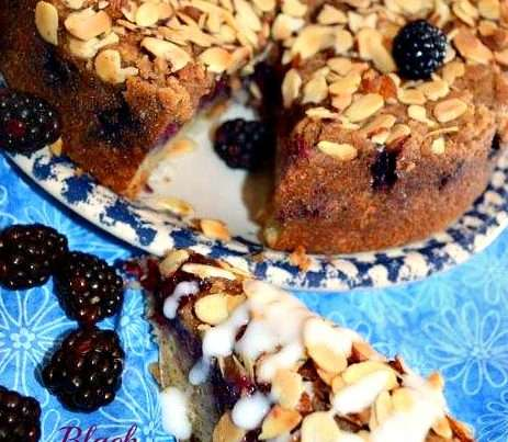 Black Berry Coffee Cake