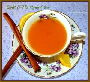 Cold & Flu Herbal Tea