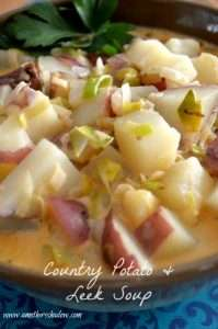 Country Potato & Leek Soup