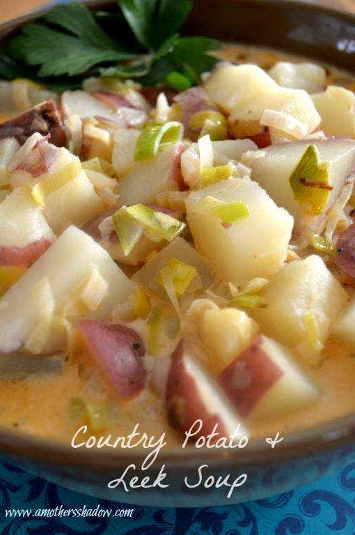 Country Style Potato and Leek Soup