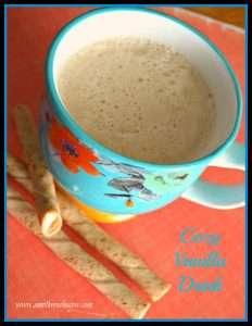 Cozy Vanilla Drink